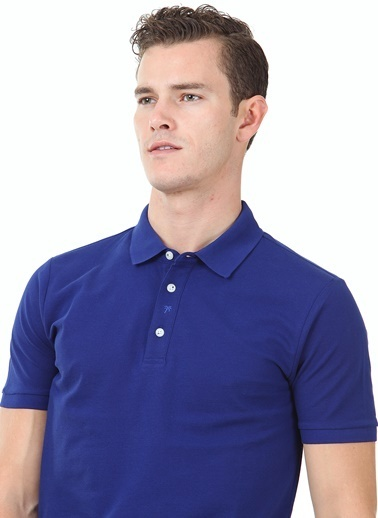 Kip Tişört Mavi